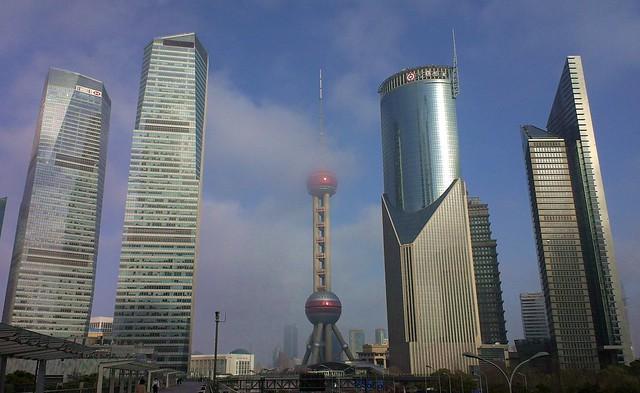 Shanghai - Morning Haze, Lujiazui