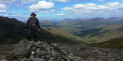 44 - beinna chroin summit cairn 2   by MekonVengence