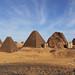 Královské pyramidové pohřebiště zMerojské doby vBedžrauíji, foto: Národní muzeum