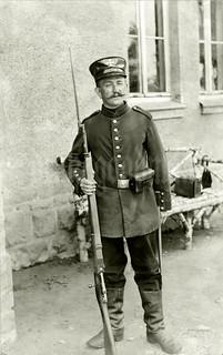Landsturmmann Max Findeis, circa early 1915