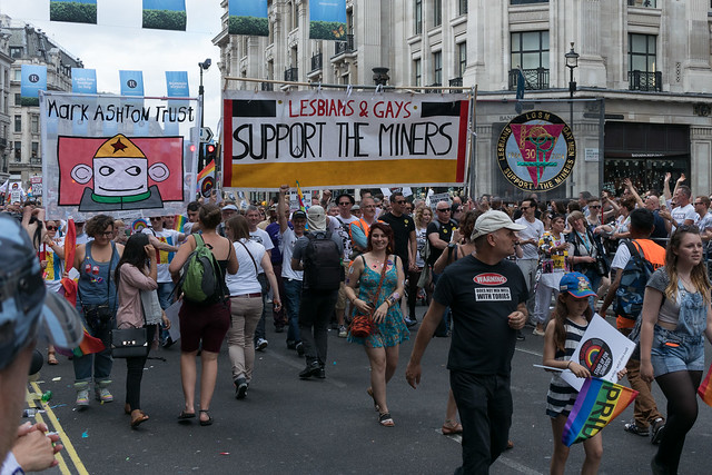 Lesbians & Gays Support the Miners - Mark Ashton Trust