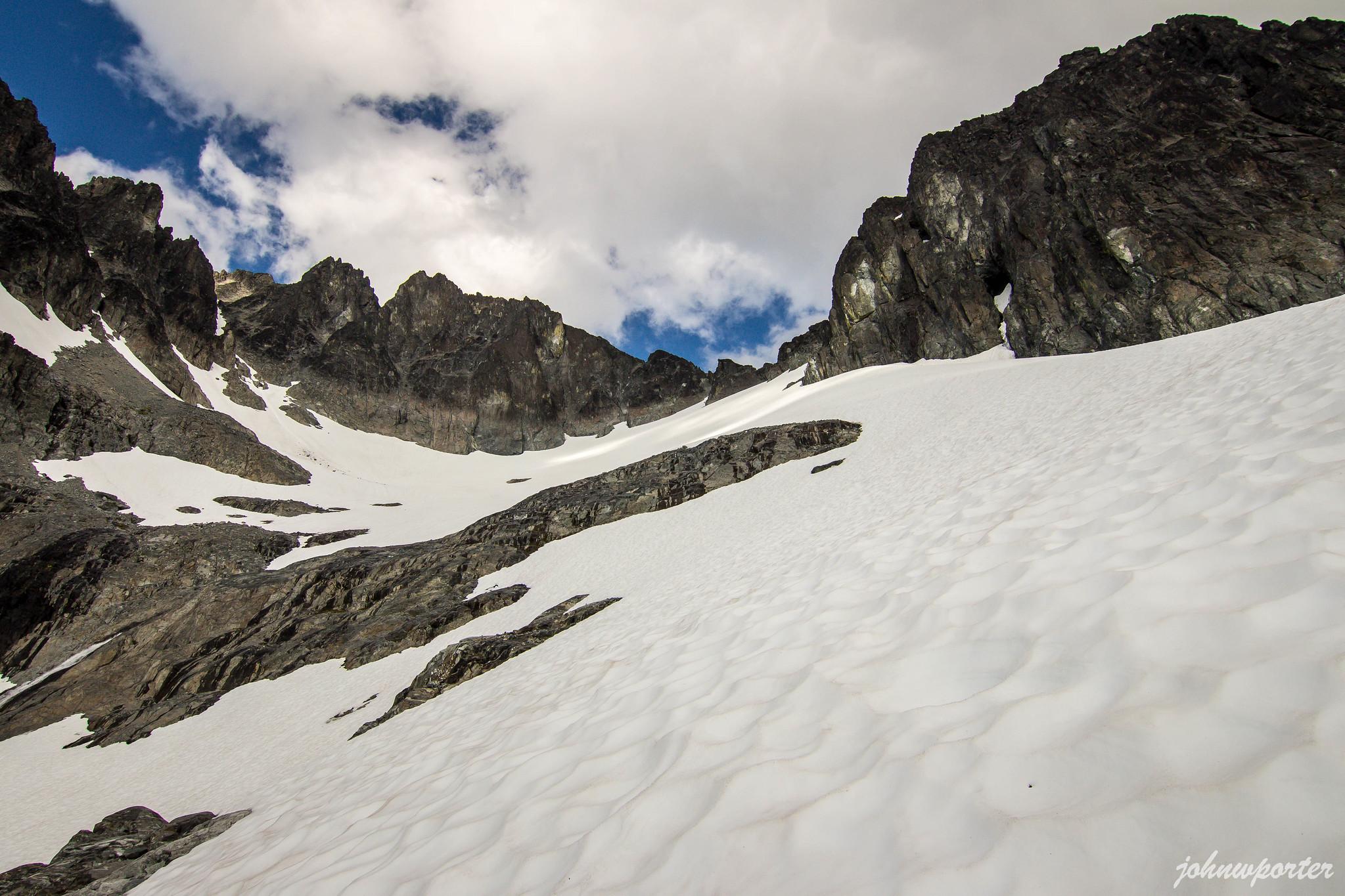 Mount Spickard southwest slope