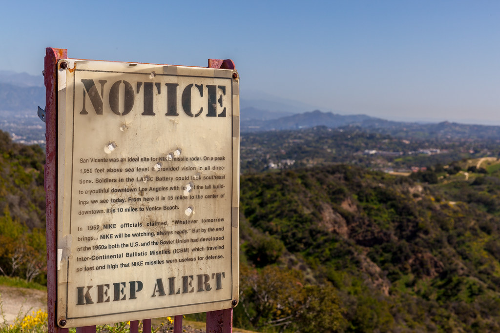 literalmente soldadura Lírico  LA96: Former Nike Missile Site at San Vicente Mountain Par… | Flickr