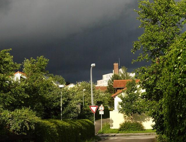 Gewitter kommt