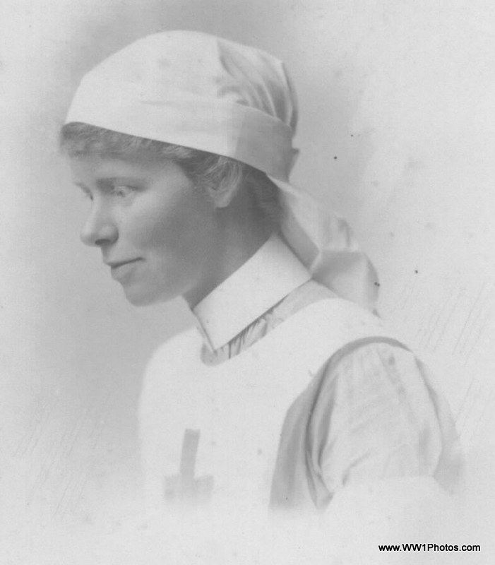 First World War Nurse | From the collection of www WW1Photos
