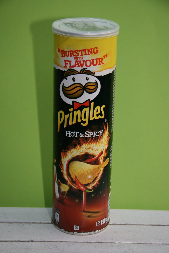 Pringles Hot And Spicy