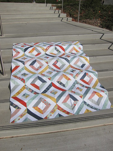 Summer in the Park quilt top | by Everyday Fray