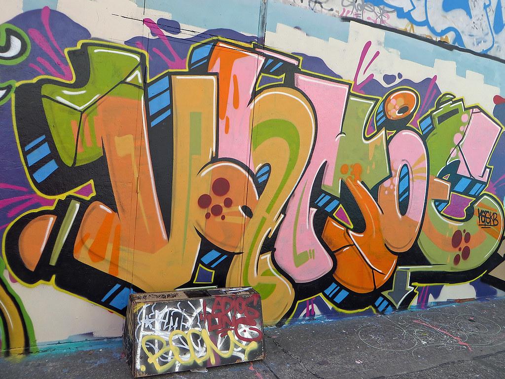Camperdown Memorial Park, Church Street Newtown street art