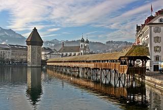Kapelbrücke Luzern Schweiz   by dicau58