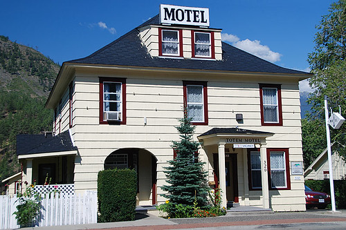 Heritage Motel, Lytton, Gold Country, Thompson Nicola, British Columbia, Canada