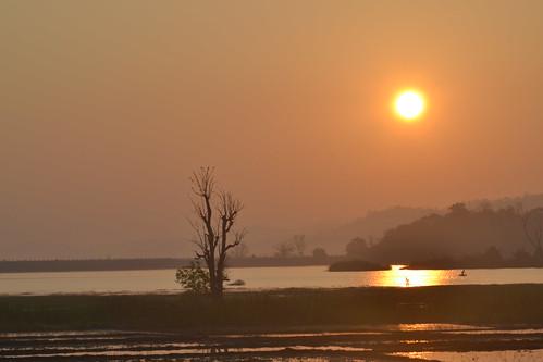 water sunrise landscape shimoga barandur flickrandroidapp:filter=none gajnurdam