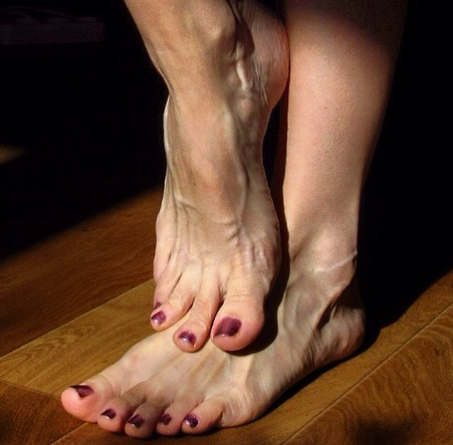 Veiny Feet Heels