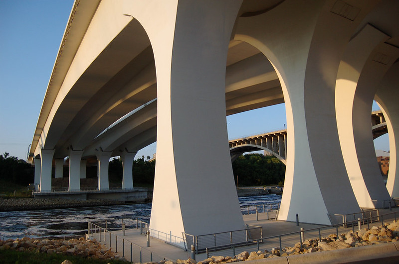 I-35W St Anthony Falls Bridge