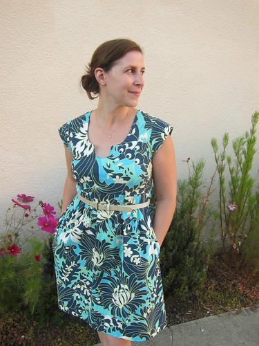 Finished Washi Dress   by Everyday Fray