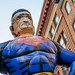 San Gennaro Festival - Giant Mustached Superman by MichaelJagendorf