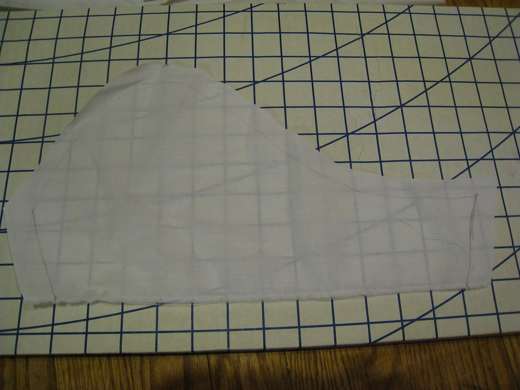 Kirtle sleeve drafting 3 | The pattern was drafted with no s