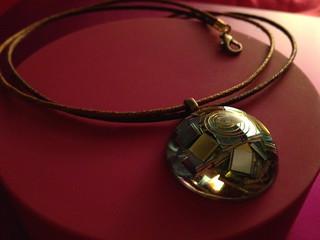 Orgonite pendant