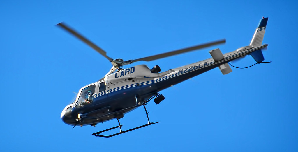 LAPD Helicopter | Flying over my house  I had to take a few
