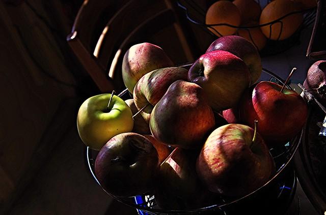 Le mele e la luce.