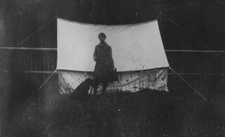 Girl and dog with tent, 1913 | by Seattle Municipal Archives
