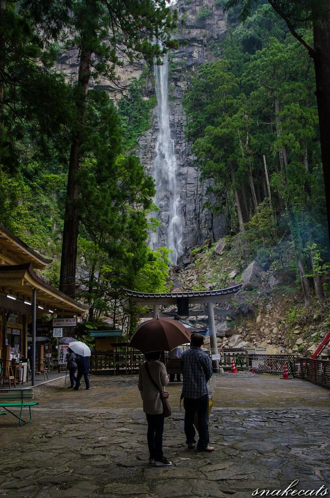 「二人」 那智の滝 - 和歌山