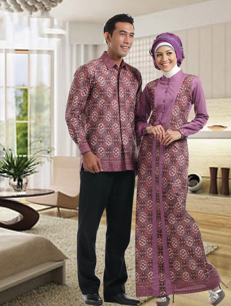 model gamis batik terbaru modern cantik c10  Devi Sofiah  Flickr