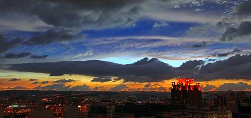 sunset canon twilight dusk taiwan 夕陽 getty taichung 台灣 日落 gettyimages 台中 微光 日暮 大肚山 5d2 dadumountain hybai