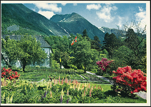 O-3-2 Norge: Hardanger. Rosendal Baroni | by National Library of Norway