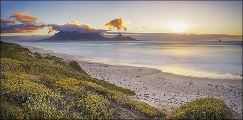 longexposure sunset sea panorama southafrica sundown capetown lee photomerge sunsetbeach tablebay tablemountain 30secondexposure canonef1740mml leefilters canon6d bigstopper