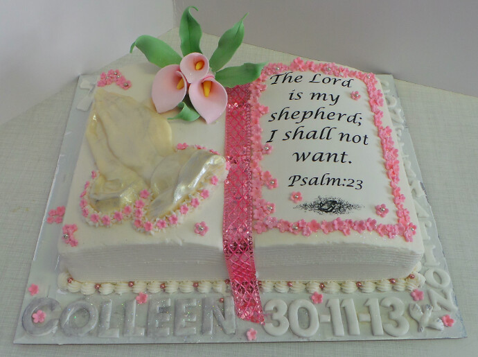 Girls Bible Confirmation Cake | Willi Probst Bakery | Flickr