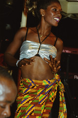Mac Tontoh Project from Ghana at the Africa Centre London July 2001 069
