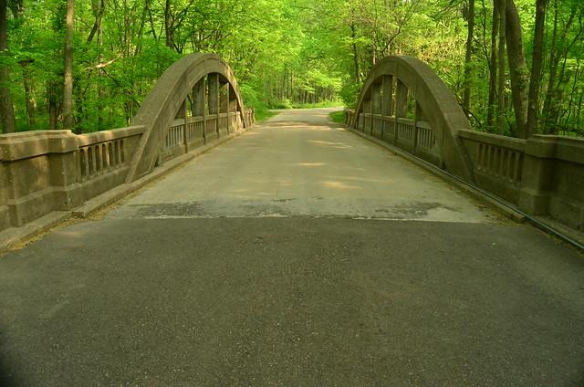 Bridge Hononegah Forest Preserve