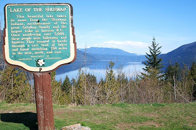 Shuswap Lake, Shuswap, British Columbia, Canada