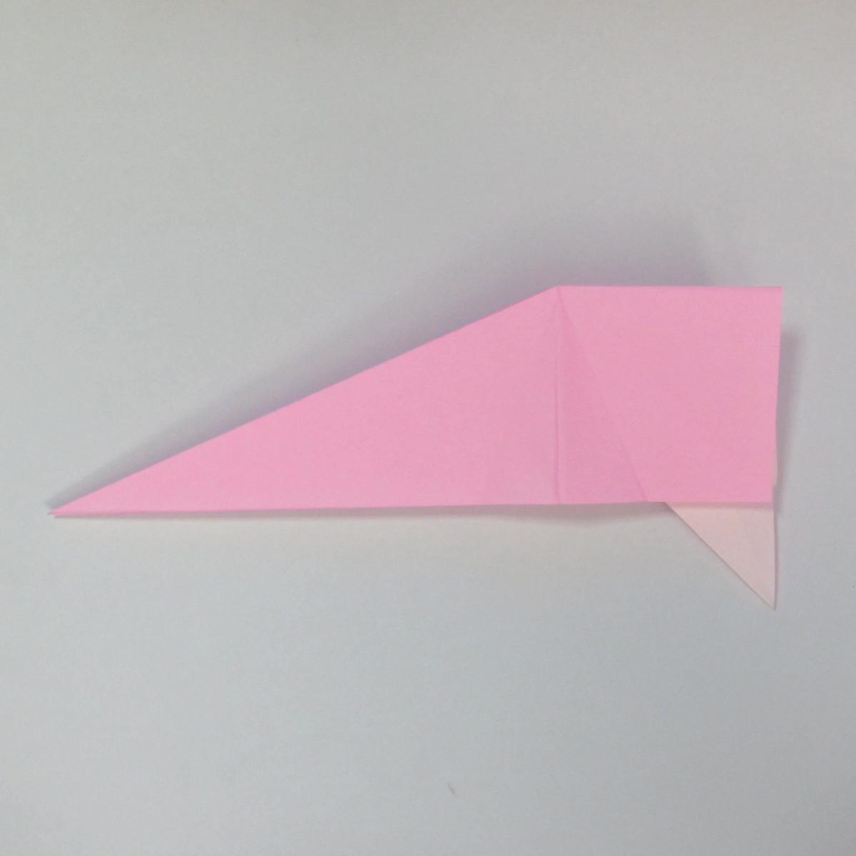 สอนการพับกระดาษเป็นลูกสุนัขชเนาเซอร์ (Origami Schnauzer Puppy) 039