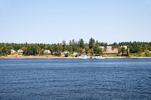 Penelakut Island (Kuper Island), Gulf Islands, Vancouver Island, British Columbia, Canada