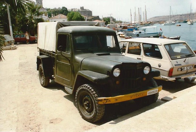 Willys Jeep military vehicle