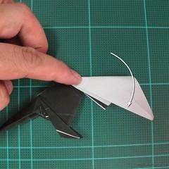 วิธีการพับกระดาษเป็นรูปจิงโจ้ (Origami Kangaroo) 024