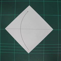 วิธีพับกระดาษเป็นรูปหมวกซามุไร (Origami Samurai Hat) 001