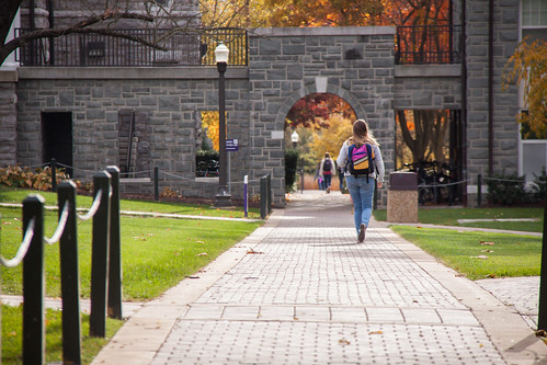 Stroll through campus, no matter what season it is.