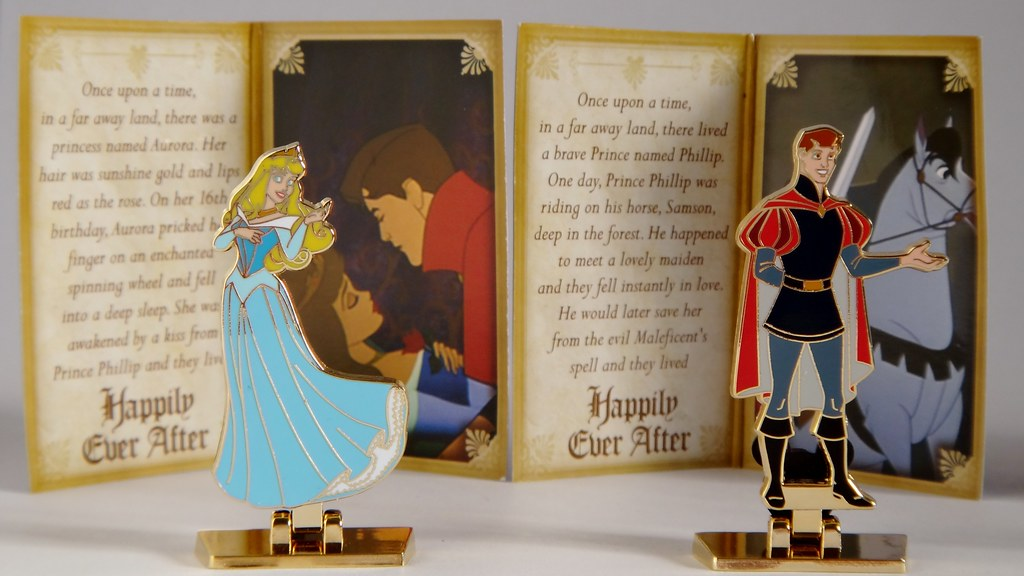 Happily Ever After Mystery Pin Set - Disney Pin Purchases