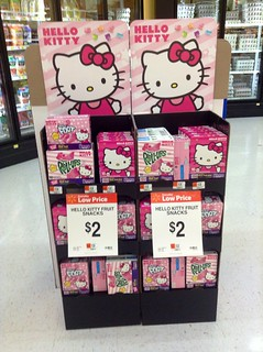 Hello Kitty Fruit Roll Ups And Hello Kitty Fruit By The Fo Flickr