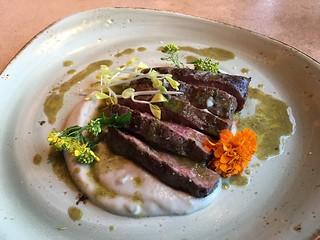 Fog City Diner- My flat iron steak | by Neeta Lind