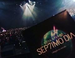 En minutos, comienza #Sep7imoDia #LunaPark #SodaStereo #SodaCirque #ExpectativaMaxima