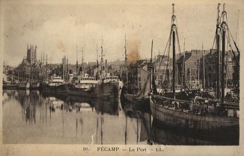 Fécamp: le port | by Simenon.com