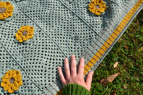 granny blanket finished | by Diana Prince