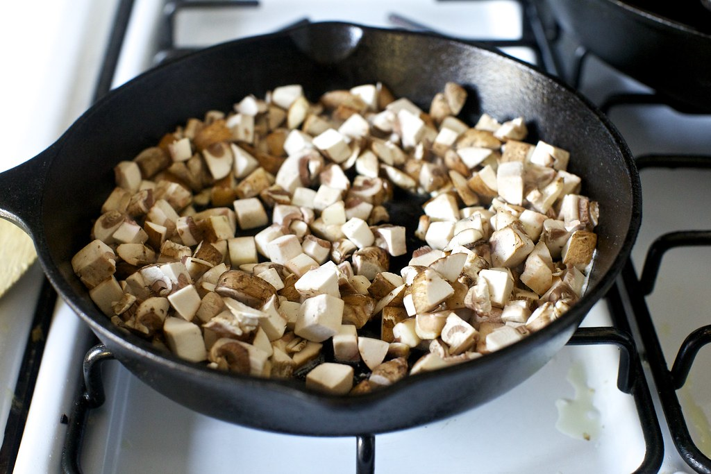 Cook The Mushrooms Until Liquid Seeps Green Bean Casserole