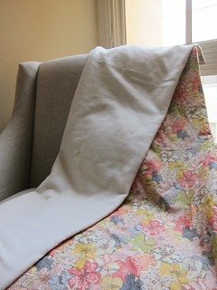 Liberty Wool Lap Duvet | by Everyday Fray