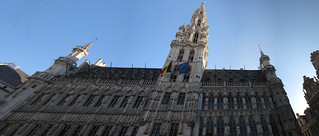 Brussels Palast panorama