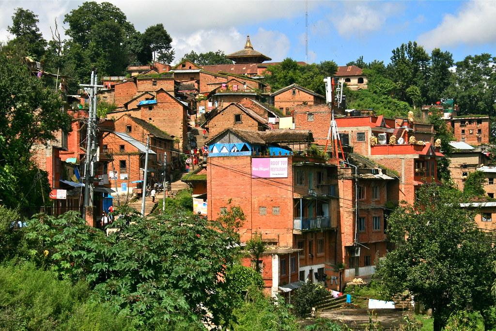 Village de Changu Narayan