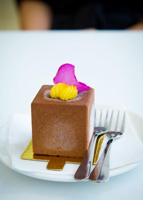 Dessert at the Cafe